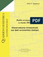 Italia economia a metà 2020