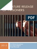 Premature Release of Prisoners
