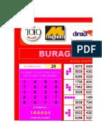 Buragas Power Chart