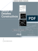 Gestor de Detalles Constructivos - Manual del Usuario