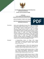 Permen 28 Tata Cara Dan Persyaratan Perizinan Penyelenggaraan Penyiaran