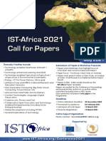 ISTAfrica 2021 Call for Papers