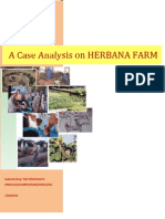 case analysis on herbana farm final output