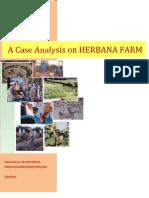 case analysis on herbana farm final output