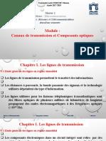 Chapitre  1 partie 1 Les lignes de transmission complet - Copie