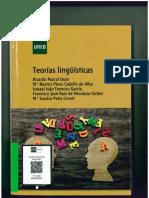 Teorías Lingüísticas, de Mairal Usón, Ricardo; Peña Cervel, María Sandra; Pérez Cabello de Alba, María Beatriz; Ruiz de Mendoza Ibáñez , F. J.; Teomiro García, Ismael Iván