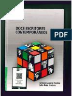 Doce escritores contemporáneos (2017), de Antonio Lorente Medina y Julio Neira Jiménez