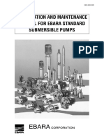 INSTALLATION AND MAINTENANCE MANUAL FOR EBARA STANDARD SUBMERSIBLE PUMPS.pdf