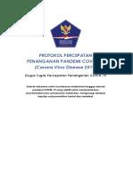 Protokol Percepatan Penanganan Pandemi Corona Virus Disease 2019
