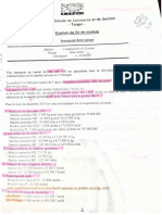 Comptabilite Analytique Examen 04