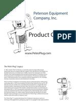 Pete_s Plugs Product Guide - PDF