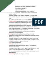FARMACOS FITOTERAPICO SISTEMA HEMATOPOYETICO