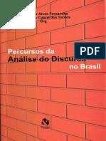 Tempos Brasileiros, percursos da Análise do Discurso nos desvãos da História do Brasil, Gregolin