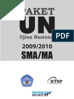 Ujian Nasional Soal dan Pembahasan IPS 2010