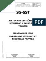 SGED-004 SISTEMA DE GESTION DE LA SEGURIDAD Y SALUD EN EL TRABAJO