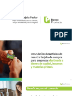 PACTAR - Institucional Brochure