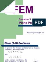 FEM9 Plane Problems