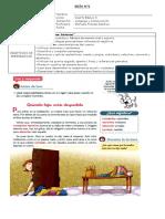 guias español texto, ortografia, sinonimos y antonimos