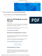 How to List Projects on your Resume _ Indeed.com