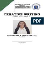 CREATIVE WRITING ANSWER SHEET.docx