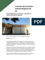 Oficializan creación de Comisión Ambiental Regional de Piura (1)