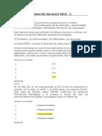 Evaluación Nacional 2013 PLANEACIN ESTRATEGICA