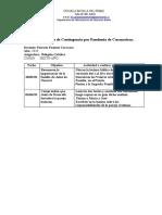 6° Basico Planificación de Contingencia por Pandemia de Coronavirus