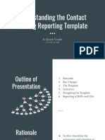 Understanding the Contact Tracing Reporting Template