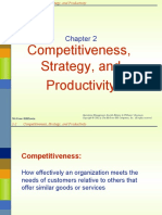 Chap 2 Competitiveness, Strategy, And Productivity