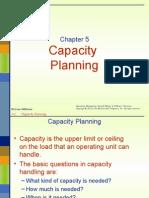 Chap 5 Capacity Planning