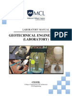 CE152L GEOTECHNICAL ENGINEERING 2 LABORATORY MANUAL