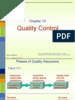 Chap 10 Quality Control