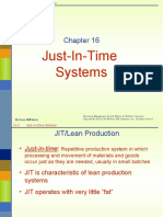 Chap 16 Just-In-time Systems