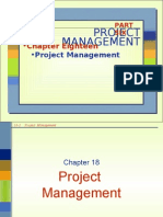 Chap 18 Project Management