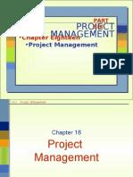 Chap 18 Project Management