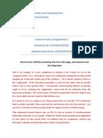 Fail [30-39%] - Example CW2 Assignment Essay