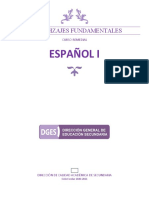 1º Español 2020-2021 Curso Remedial