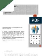 FUNDAMENTOS DE LA CONFIGURACIÓN DEL ENTORNO OBJETUAL