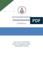 Project Based Internship Outline