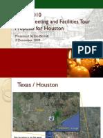 Spring 2010 Facilities Tour Proposal