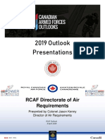 DAR - Aircraft, Vehicle & Equipment Projects - Col Jason Kenny - Apr 4 2019 - ENG
