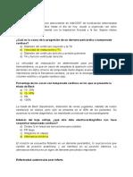 BANCO DE PREGUNTAS CARDIOLOGIA
