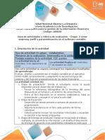 Guia de actividades y Rúbrica de evaluación - Fase  2 - Crear empresa, perfil y parametrización en Siigo nube (1)