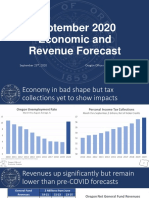 Oregon Revenue Forecast