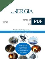 Impactos causados pela geração de energia