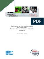 Seguridad en las Américas, los desafíos Post Conferencia- Operacionalizar los consensos y articular los conceptos