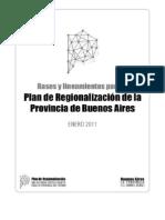 Plan Estratégico de la Provincia de Buenos Aires - Primer Borrador