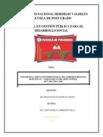 ANALISIS DE EJECUCIÒN - AMBROCIO VILCA LADY