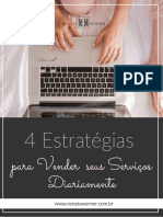 Ebook - 4 Estratégias para Vender seus Serviços Diariamente