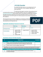 Moneris PCI DSS Checklist 100716